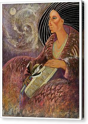 Mayan From Milky Way Gallacy Canvas Print