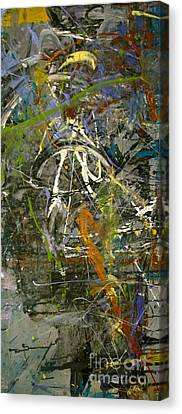 Canvas Print featuring the painting 'maybe Guitar' Or Abstract 42515 by Robert Anderson