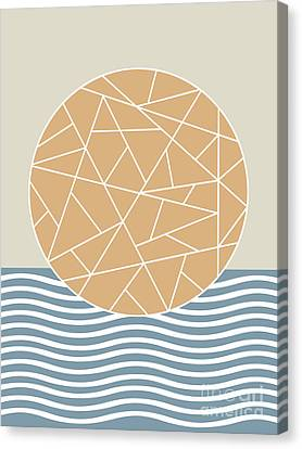 Maybe The Sea Canvas Print by Absentis Designs