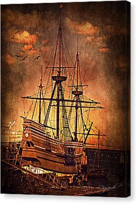 Mayflower II Canvas Print by Lourry Legarde