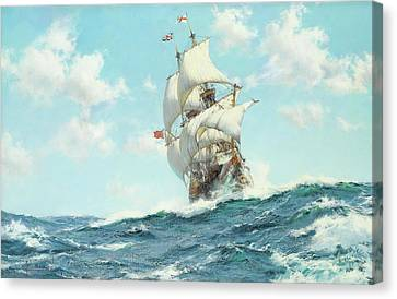 Mayflower II Canvas Print by Montague Dawson