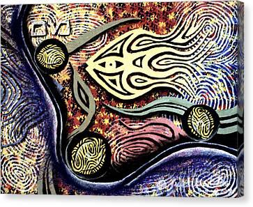 Mayim Canvas Print by Luke Galutia