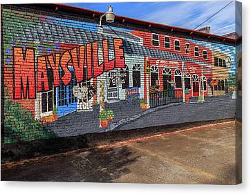 Maysville Mural Canvas Print