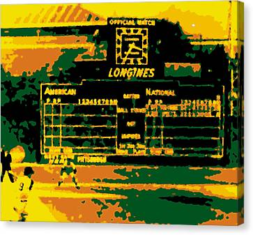 Maz World Series Homer Canvas Print by Ron Regalado