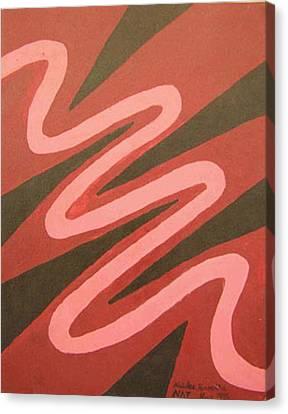 Maze Of Life Canvas Print