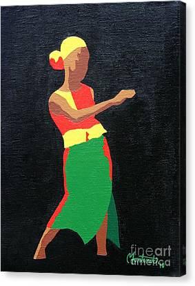 Mbili Canvas Print by Christine Fontenot
