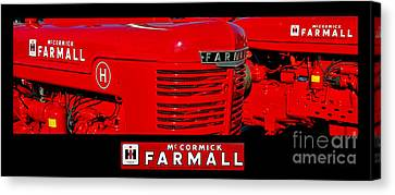 Mc Cormick Farmall Poster Canvas Print by Olivier Le Queinec