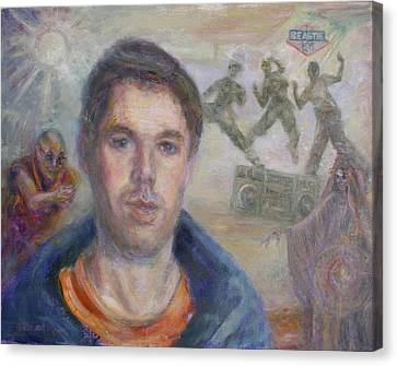Mca's My Ace - Adam Yauch Tribute Painting Canvas Print