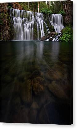 Mccloud Falls Canvas Print by Dustin LeFevre