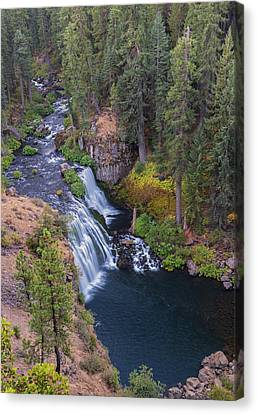 Mccloud River And Middle Falls Canvas Print