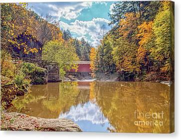 Mcconnells Mill Three Canvas Print