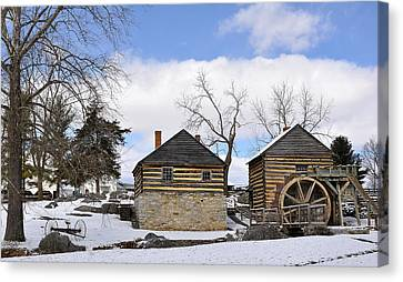 Mccormick Farm 1 Canvas Print by Todd Hostetter