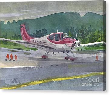 Mccullum Airport Canvas Print by Donald Maier