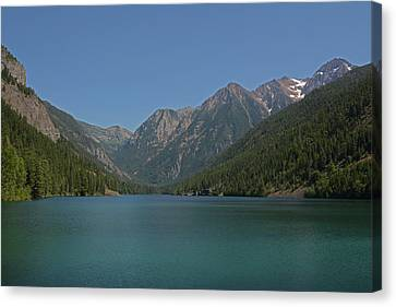 Mcdonald Lake- Ronan Montana Canvas Print