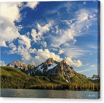 Mcgown Afternoon Sky Canvas Print by C Steele