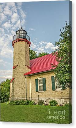 Canvas Print featuring the photograph Mcgulpin Point Lighthouse by Sue Smith
