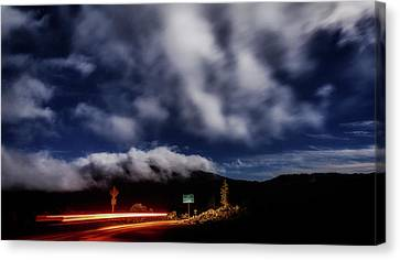 Canvas Print featuring the photograph Mckenzie Pass by Cat Connor