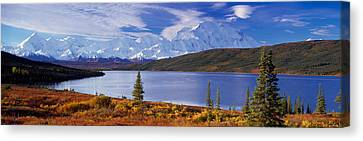 Mckinley River Denali National Park Ak Canvas Print by Panoramic Images