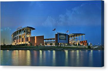 Mclane Stadium -- Baylor University Canvas Print by Stephen Stookey
