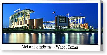 Mike Canvas Print - Mclane Stadium Print by Stephen Stookey