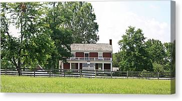 Mclean House Appomattox Court House Virginia Canvas Print by Teresa Mucha