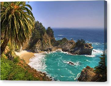 Pfeiffer Canvas Print - Mcway Falls by Donna Kennedy