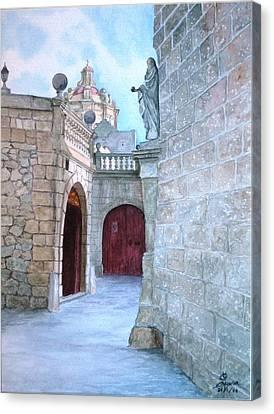 Mdina The Old City Canvas Print by Martin Formosa