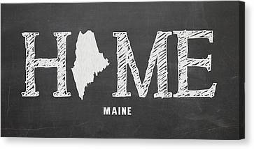 Me Home Canvas Print by Nancy Ingersoll