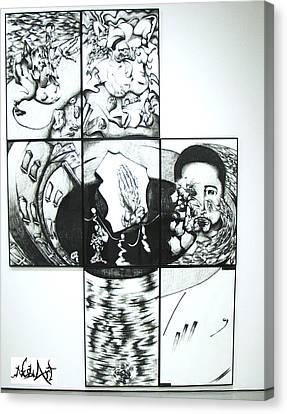 Me Canvas Print by Ruben Rosado