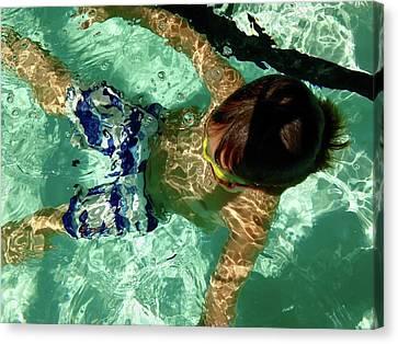 Me Time Canvas Print by Anna Villarreal Garbis