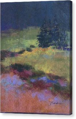 Meadow At Dusk Canvas Print