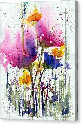 Meadow Medley Canvas Print by Anne Duke