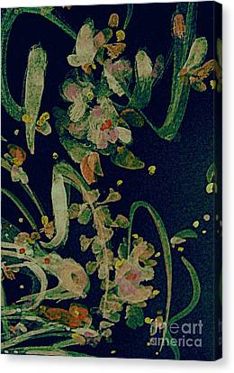 Meadow Song Canvas Print by Nancy Kane Chapman