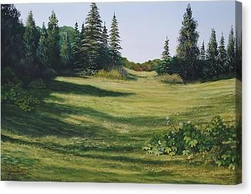 Meadow Walk Canvas Print