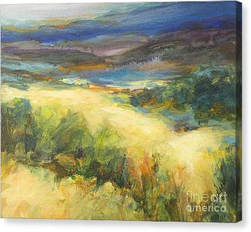 Meadowlands Of Gold Canvas Print