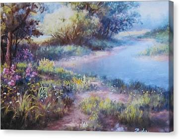 Meadowlight Canvas Print
