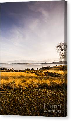 Meadows And Seaviews Canvas Print by Jorgo Photography - Wall Art Gallery