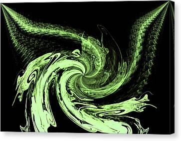 Mean Green Canvas Print