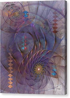 Meandering Acquiescence Canvas Print by John Robert Beck