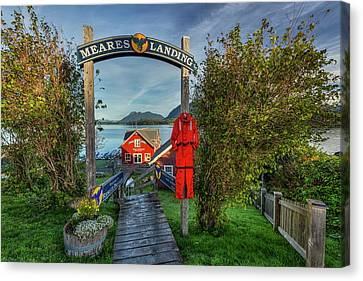 Meares Landing Canvas Print by Mark Kiver
