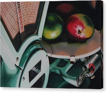 Measured Canvas Print by Denny Bond