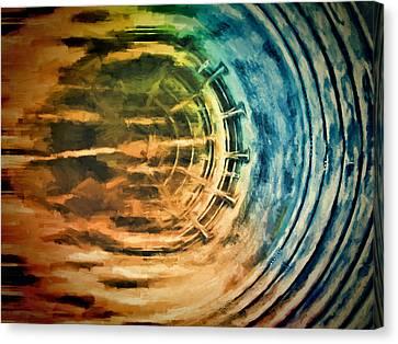 Mech Seven Canvas Print by John K Woodruff