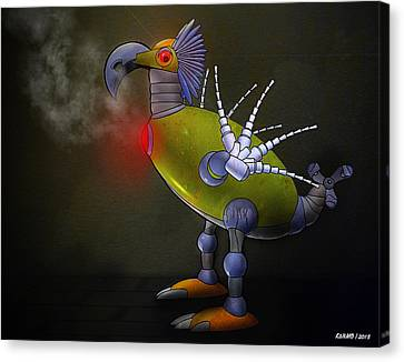 Mechanical Bird Canvas Print