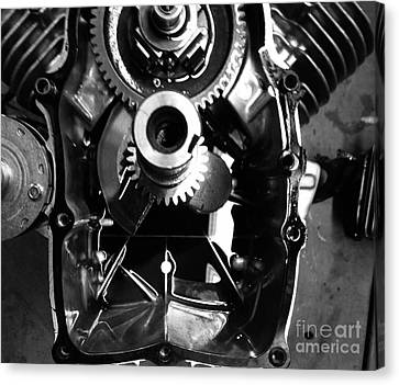 Mechanical Energy Canvas Print by Michael Gailey