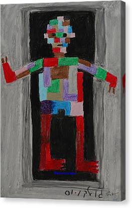 Mechanical Man Canvas Print by Harris Gulko