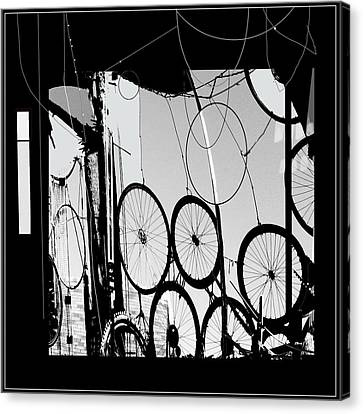 Mechanistic Canvas Print by Dale  Witherow