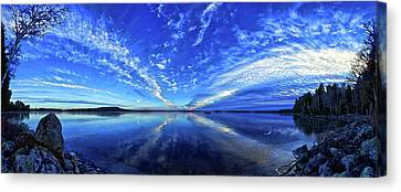 Meddybemps Blues Canvas Print by ABeautifulSky Photography