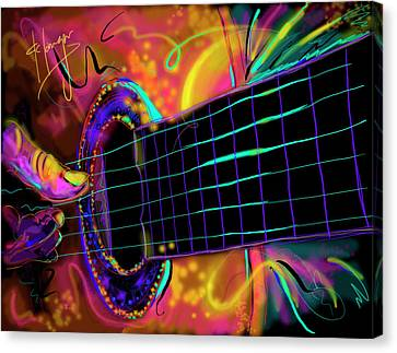 Medianoche Canvas Print by DC Langer