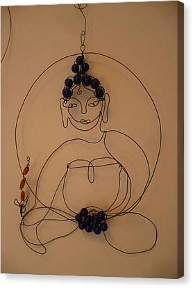 Canvas Print - Medicine Buddha by Live Wire Spirit