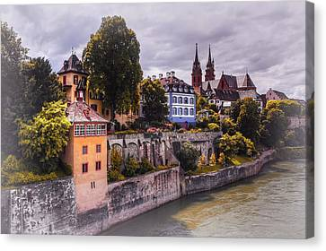 Medieval Basel Switzerland  Canvas Print by Carol Japp